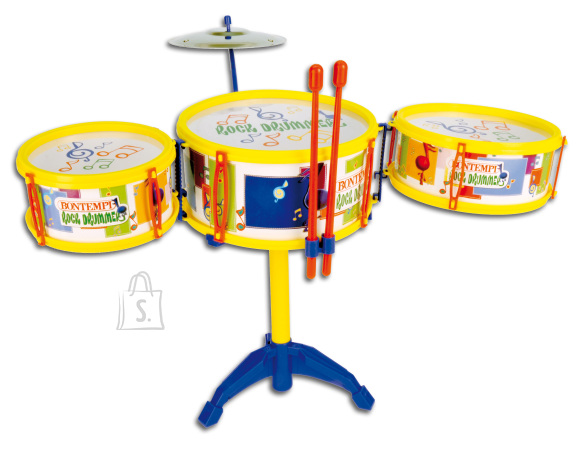 Bontempi mängu trummikomplekt taldrikuga