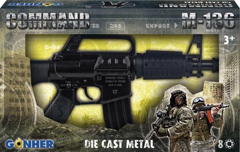Gonher mängurelv M-136, 8 lasku