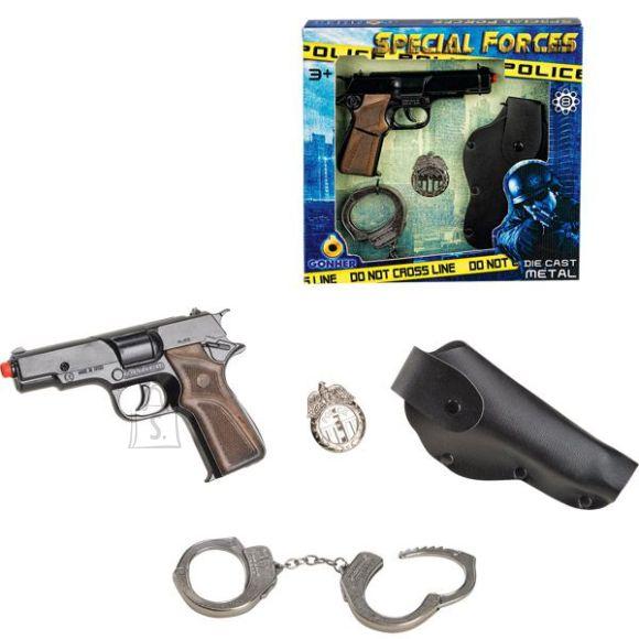 Gonher politsei relvakomplekt 425/6, 8 lasku