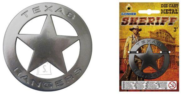 Gonher metallist šerifi märk