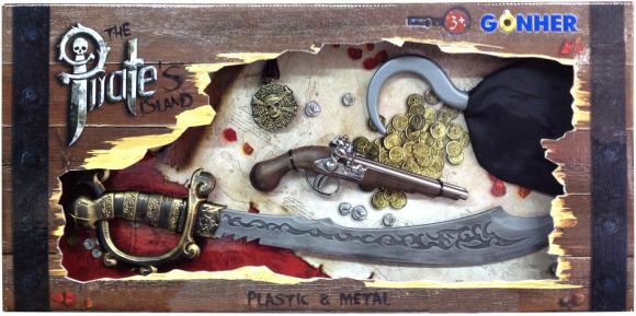 Piraadi mängukomplekt