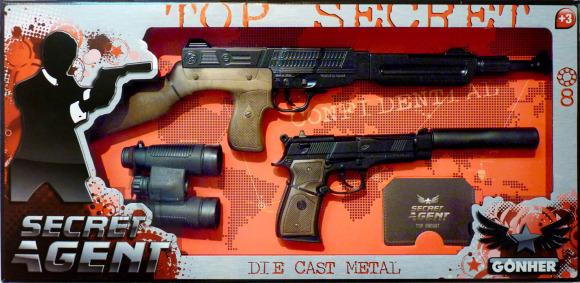 Gonher salaagendi relvakomplekt, 8 lasku