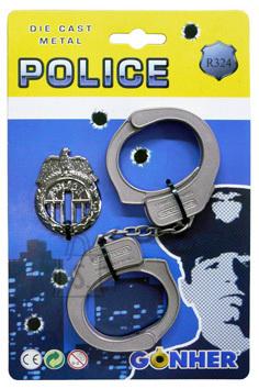 Gonher politsei käerauad ja ametimärk