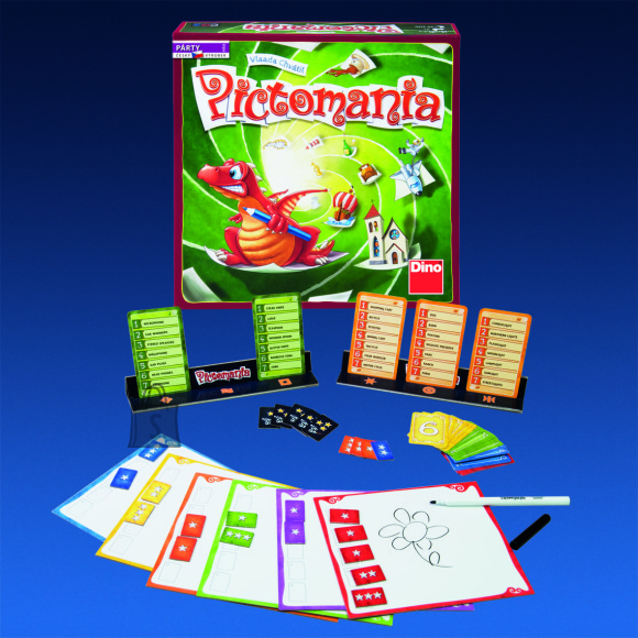 Dino Pictomania lauamäng