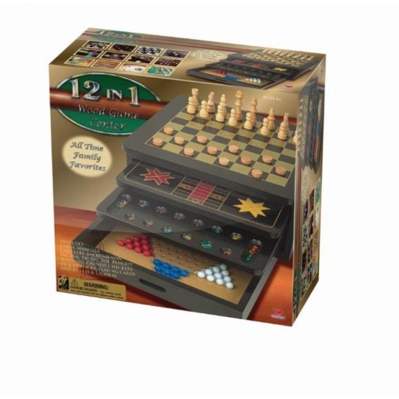 Cardinal Industries mängukomplekt 12 lauamängu