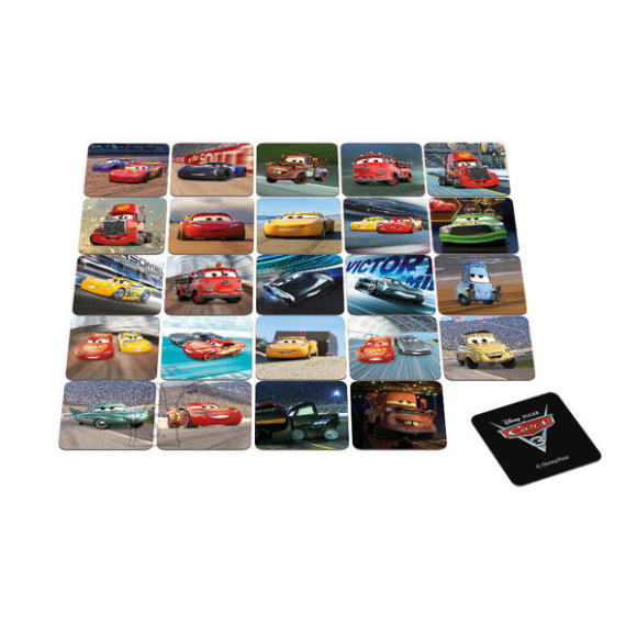 Dino memorimäng Cars 3
