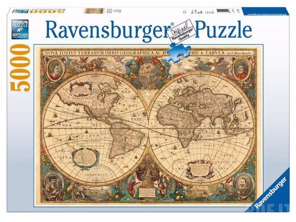 Ravensburger pusle Geograafia 5000tk