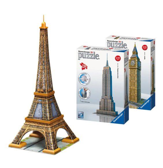 Ravensburger 3D pusle Eiffel Tower,  216-osaline