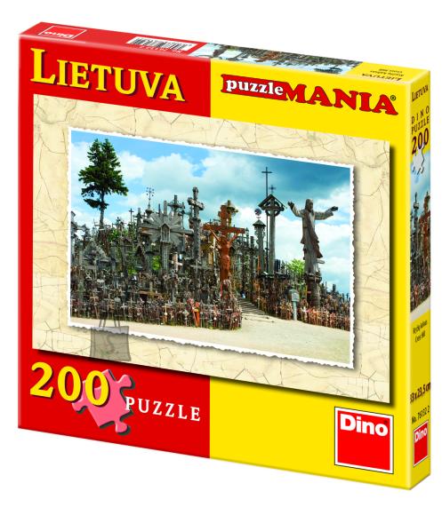 """Dino pusle """"Ristimägi Leedus"""" 200 tk"""