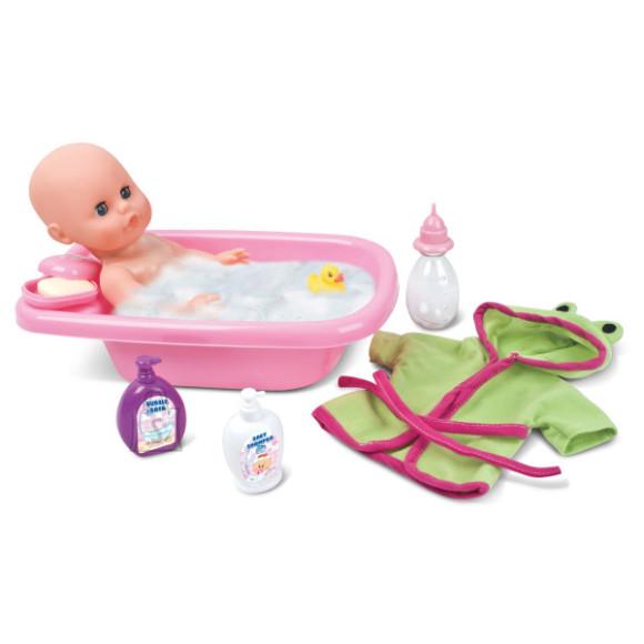 Bambolina beebinukk vannitamise tarvikutega