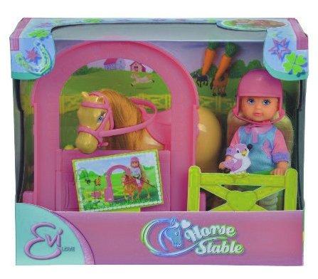 Simba Evi LOVE nukukomplekt hobusega