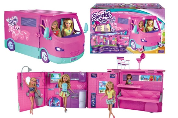 Sparkle Girlz matkaauto komplekt