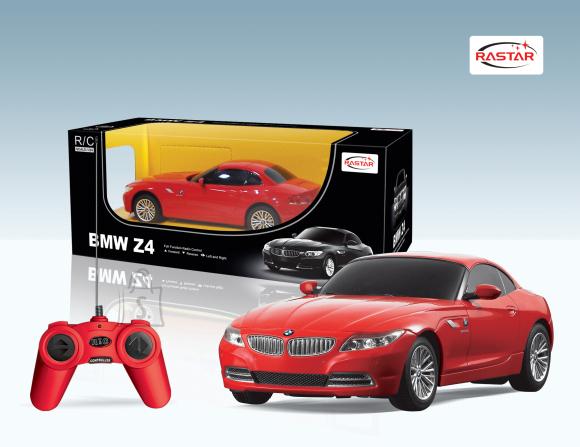 Rastar raadio teel juhitav mudelauto BMW Z4 1:24