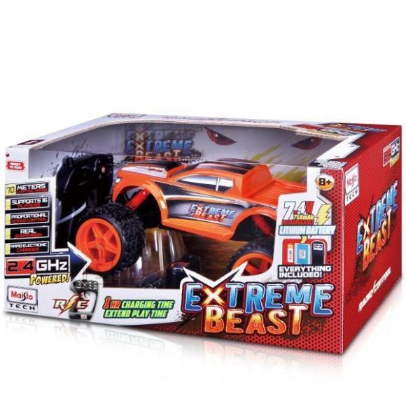 Maisto Tech raadio teel juhitav mängusõiduk Extreme Beast