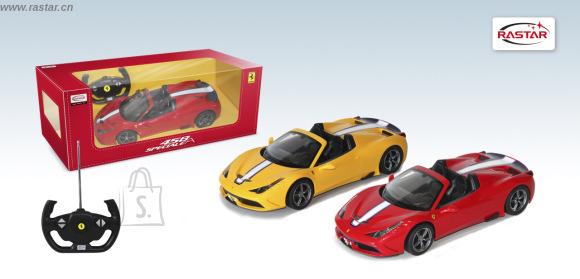 Rastar raadio teel juhitav Ferrari Speciale A 458 1:24, erinevad variandid