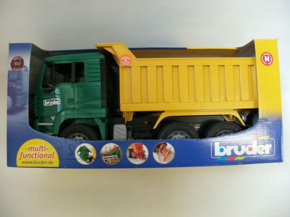 BRUDER veoauto roheline haagisega, 02765
