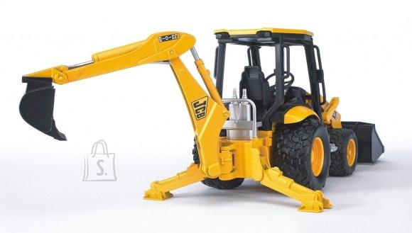 BRUDER midi traktor-ekskavaator JCB, 02427