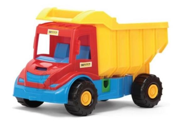 Wader veoauto kastiga 38x24x20cm, 32151
