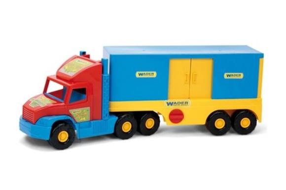 Wader mängu veoauto konteineriga