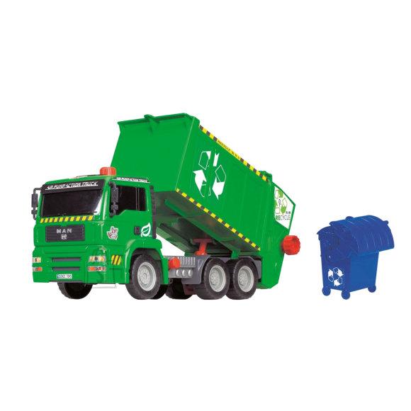 Simba Dickie Toys õhkpumpamisega prügiauto
