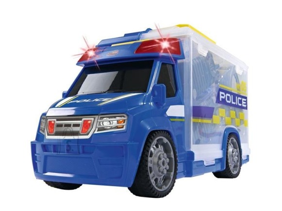 Dickie Toys politsei autokomplekt Push & Play