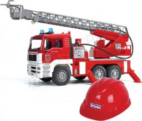 Bruder tuletõrjeauto MAN TGA + kiiver