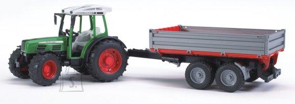 Bruder mängusõiduk traktor 209S haagisega