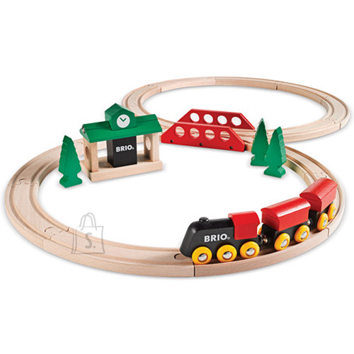 Brio klassikaline rongirada, 8-kujuline