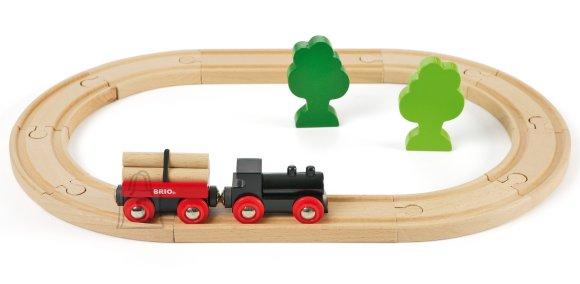 Brio puidust rongikomplekt