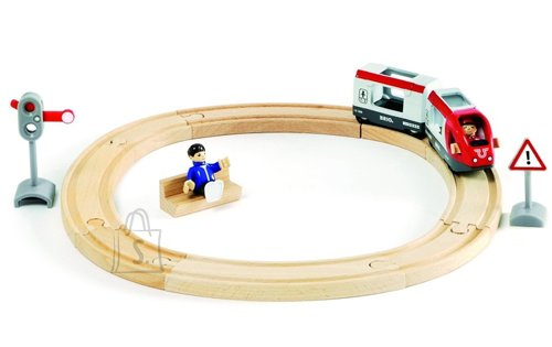 Brio puidust rongikomplekt Travel Circle