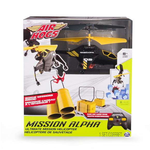 Spin Master raadio teel juhitav lennumasin Mission Alpha, lisadega