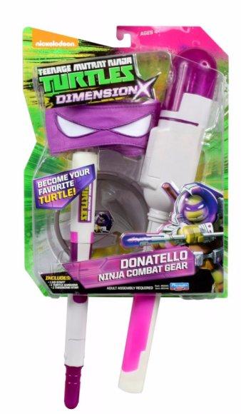 TMNT Dimension X rollimängu komplekt Donatello