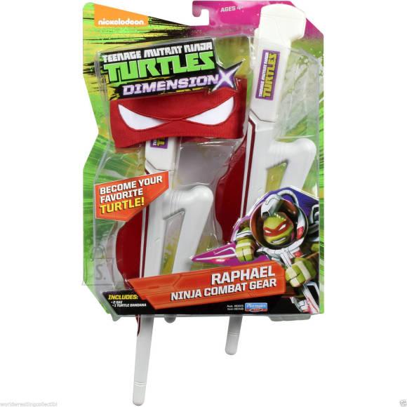TMNT Dimension X rollimängu komplekt Raphael