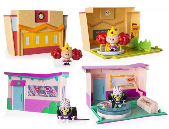 Cartoon Network Power Puff Girls mängukomplekt Mini, erinevad variandid