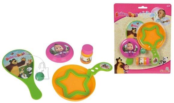 Simba Maša ja Karu mängukomplekt mullitaja lisadega