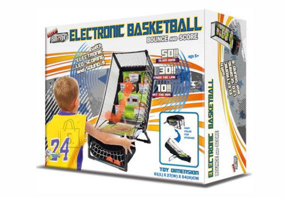 elektrooniline korvpalli mäng Bounce & Score