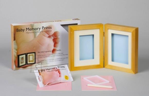 Baby Memory Prints hingedega pildiraam 2-le pildile