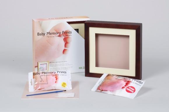 Baby Memory Prints pildiraam 3D jälje tegemise komplektiga