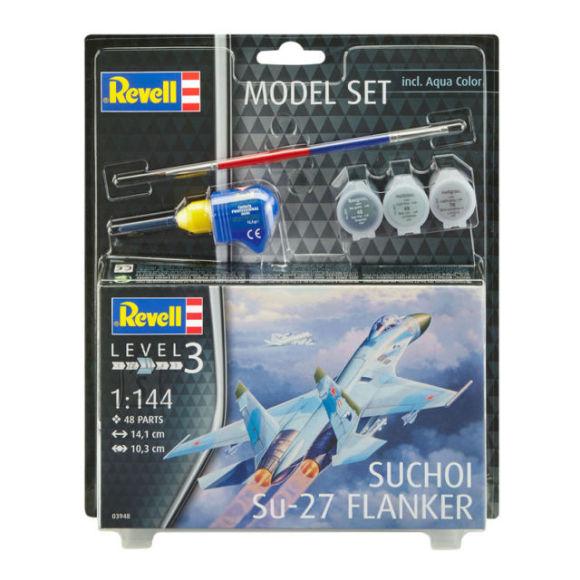 Revell mudellennuk Suchoi Su-27 Flanker 63948