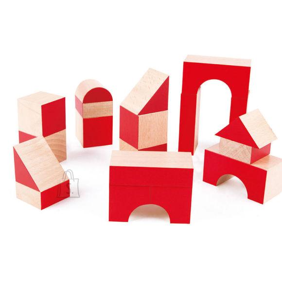 Hape puidust klotside komplekt, 30-osaline