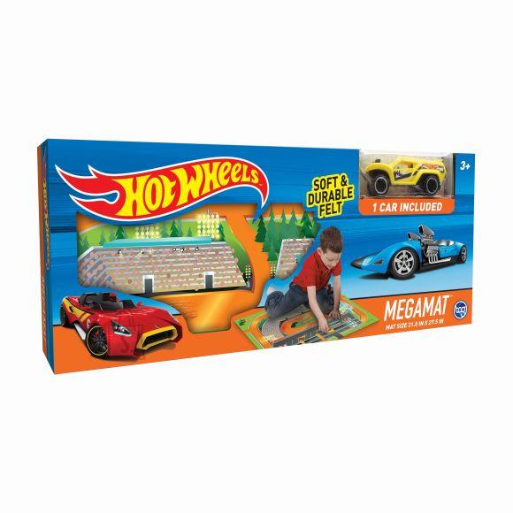 TCG Toys mängumatt sõidukiga Hot Wheels Felt 30741