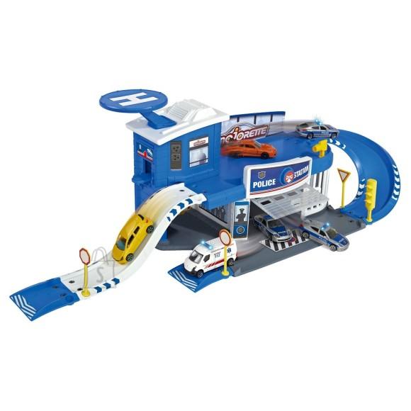 Majorette mängukomplekt Creatix politseimaja + 1 auto 212050012038