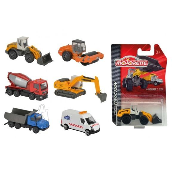 Majorette MAJORETTE Construction auto 6 asst, 212057281
