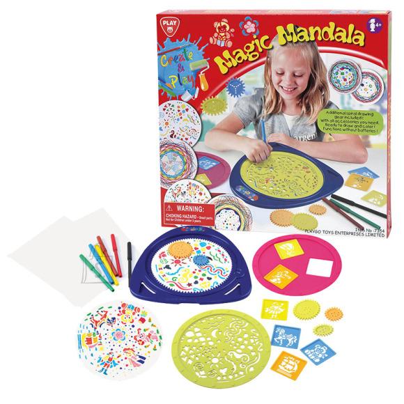 Playgo meisterdamiskomplekt Mandala