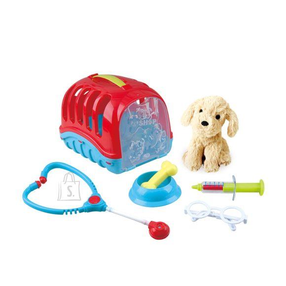 Playgo loomaarsti mängukomplekt Pet Care Carrier