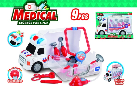 Arstikomplekt kiirabiautoga