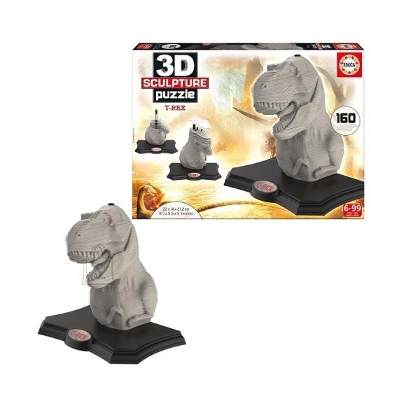 Educa 3D skulptuur-pusle Dinosaurus T-Rex