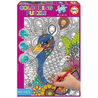 Educa värvimispusle Džunglisafari