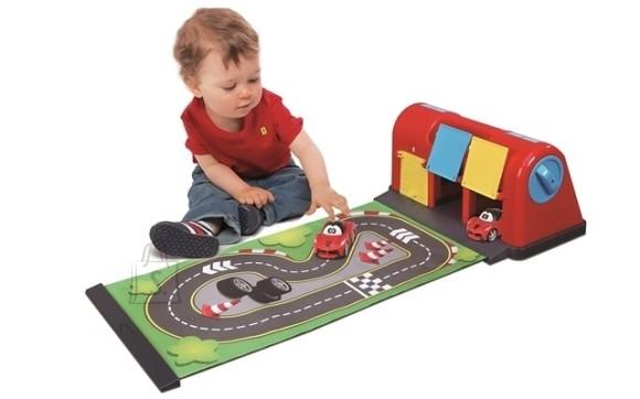 BB Junior mängukomplekt Ferrari Roll-Away Raceway