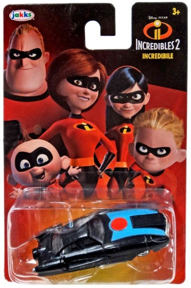 Jakks Incredibles 2 mudelauto Incredibile